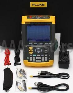 Fluke 225c Scopemeter Oscilloscope W Bushealth Scope Meter 225c 003 225