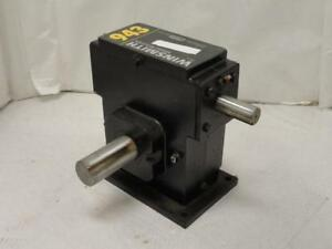 178059 New no Box Winsmith 943dt Worm Gear Speed Reducer 60 1 Ratio 1 81hp In