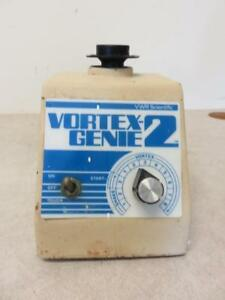Vwr Scientific Industries Vortex Genie 2 G 560 Mixer W Single Tube Top a