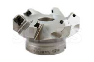 Shars 3 45 Indexable Face Mill 6fl Seht Sehw Insert New 136 05 Off