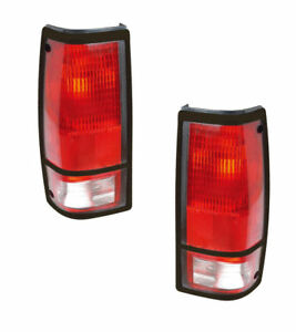 Tail Light Assemblies Left Amp Right Side Fits Chevrolet S10 Amp Gmc Sonoma Fits Gmc Sonoma