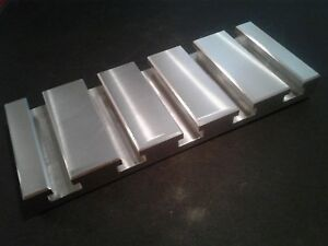 Sacrificial Aluminum T slot Plate T slotted Fixture Table 4 X 10 X 1