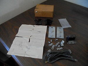 1951 1952 Chevrolet Pickup Panel Suburban Truck Nos Accessory Matched Horn Kit