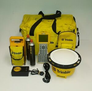 Trimble 4800 Survey System Gps Base Rover With Tsc1 Data Collector W accessories
