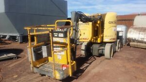 Grove Electric Boom Lift A33nej Electric Manlift Aerial stock 2297