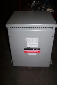 Rex Manufacturing 15 Kva Single Phase Transformer 480 Hv 200 Lv Sc15hx