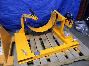 55 Gallon Forklift Drum Rotator 800 Lb Load Capacity 24