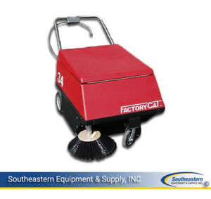 Demo Factory Cat Model 34 Floor Sweeper