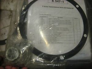 Waterous Y Chain Case Cm Pump Series Transmission Shim Gasket Kit K 547 1 K547
