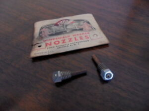 1935 1936 1937 Chevrolet Pontiac Buick Olds Nos W s Washer Squirter Nozzles