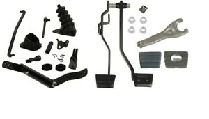1971 72 Chevelle El Camino Master Clutch Linkage Kit With Pedals Power Brakes