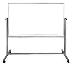 Offex 72 X 48 Reversible Magnetic Whiteboard With free Whiteboard Cleaner