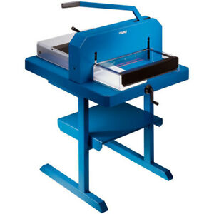 New Dahle 848 Heavy Duty 700 Sheet 18 5 Inches Stack Cutter Free Shipping