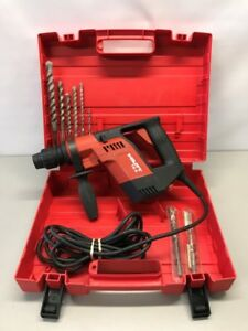 Hilti Te5 4 6 amp Rotary Hammer Drill Package W bits Case gce031700