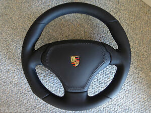 Porsche 997 Turbo Gt 2 Rs Sport 340mm Steering Wheel With A Bag Gemballa Ruf