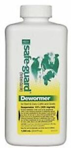 Safe guard Oral Drench Wormer Cattle Goats 1000 Ml
