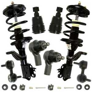 New 8 Piece Front Complete Suspension Package Kit Fits 2003 2011 Honda Element