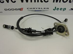 07 10 Jeep Wrangler New Automatic Transmission Shifter Shift Cable Mopar Oem