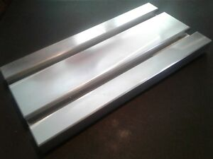 Sacrificial Aluminum T slot Plate T slotted Fixture Table 6 X 12 X 1