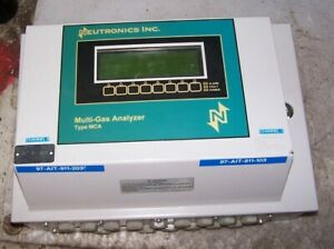 Neutronics Type Mca Multi gas Analyzer Supply 120 Vac