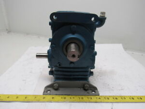 Textron Cone Drive Hu20 2 Right Angle Gearbox Speed Reducer 40 1 Ratio