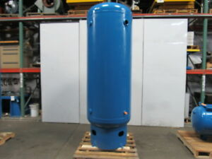 National 400 Gallon Upright Vertical Compressed Air Receiver Tank 125 Psi