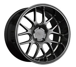 18x9 Xxr 530d 5x112 35 Chromium Black Wheels New Set