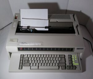 Ibm Wheelwriter 15 Series Ii Lexmark Div 6783 Tested Serviced Word Processor