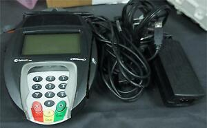 Hypercom Optimum L4250 Credit Card Terminal W Stylus And Power Supply E