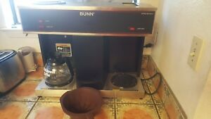 Bunn Vps Pourover Coffee Brewer 3 Warmers 04275 0031 Works Great 1 Pot