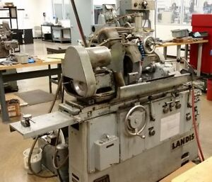 Landis 1r 10 X 20 Universal Id od Cylindrical Grinder New 1977