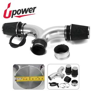 Upower Black 3 5 air Intake Kit With Twin Filter For 97 00 Chevy Corvette