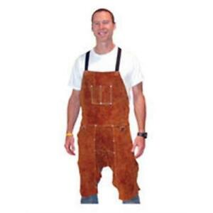 Tillman 3849 24 W X 49 L Leather Split Leg Bib Apron