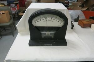The Welch Scientific Company Vintage Galvanometer 2692 X Large Model