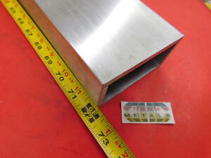 2 X 4 X 1 4 Wall Aluminum Rectangle Tube 6061 T6 72 Long 2 0 x 4 0 x 25