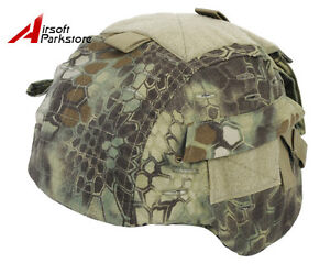 Emerson Tactical Helmet Cover MR Camo for MICH TC-2000 ACH Military Army Hunting