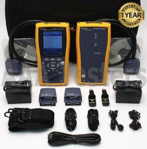 Fluke Networks Dtx 1200 Cat5e Cat6 Certifier Cable Tester Analyzer Dtx Dtx1200