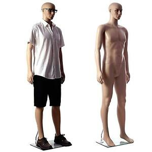 Only Mannequin 37 Chest 30 Waist 38 Hips Male Durable Plastic Head Turns
