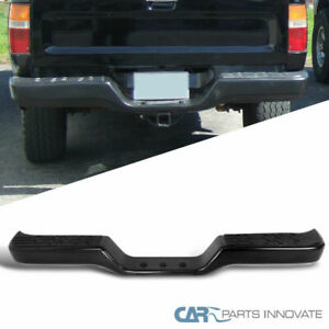 For 89 95 Toyota Pickup 2 4wd Black Finished 1pc Assy Rear Bumper Step Guard
