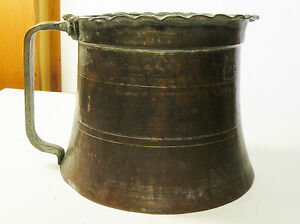 3dbox Large Copper Tin Washed Pot Container Middle Eastern
