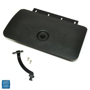1970 1972 Chevelle El Camino Monte Carlo Glovebox Door Assembly Black Only