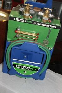 Trade Pro Tp 100 Cutting Torch Kit For Welding Portable Oxyacetylene Outfit