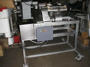 Urschel Model H a Dicer Refurbished W All New Knives And Stainless Feed Chutes