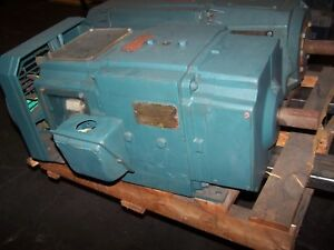 Reliance 5 Hp Dc Electric Motor 258at Frame 240 Vdc 1750 Rpm 1l259653t3 lx