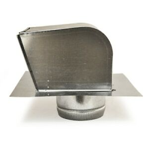 American Aldes 6 Galvanized Ventilation Exhaust Steel Roof Cap