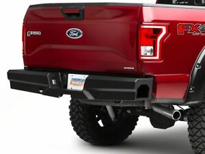 New Ranch Style Smooth Rear Bumper 15 16 17 18 Ford 150 Steelcraft Elevation