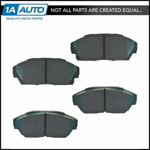 Premium Posi Ceramic Disc Brake Pads Front For Acura Honda New