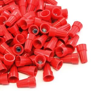 5000 Pcs Red Screw On Wire Electrical Connectors Twist on Easy Screw Pack