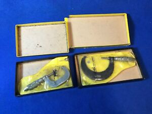 Central Tool Co Ri 1 2 2 3 Micrometers 21rl 32rl