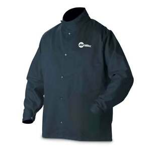 Miller 2x large 244754 Welding Jacket Industrial Cloth